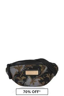 Kids Black/Gold Belt Bag