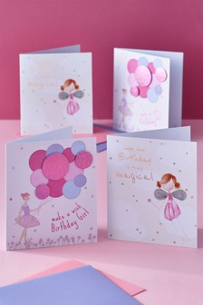 Set of 4 Mixed Cards