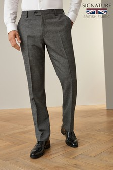 Empire Mills Signature Puppytooth Suit: Trousers