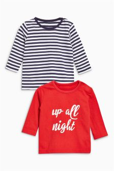 T恤两件组合装 (0个月-2岁)