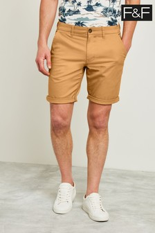 F&F Tan Chino Short