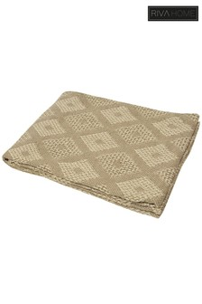 Trellis Geo Throw by Riva Home