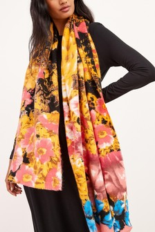 Floral Midweight Scarf