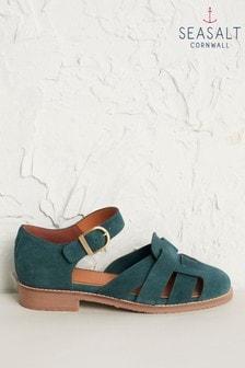 Seasalt Cornwall Verte First Chorus Shoes