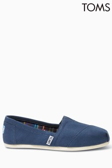 TOMS Navy Canvas Classic Pump