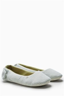 Bow Ballet Slippers