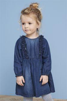 Ruffle Dress (3mths-6yrs)