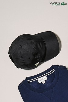 Lacoste® Sport Black Cap