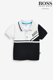 HUGO White/Black Logo T-Shirt