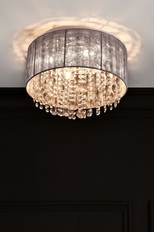 Elegant Palazzo 4 Light Flush Fitting