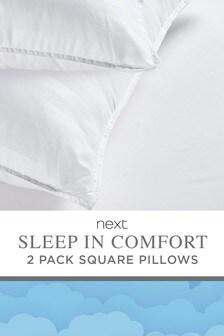 Набор из 2 квадратных наволочек Sleep In Comfort