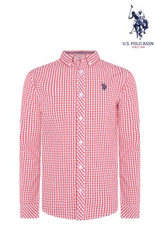 U.S. Polo Assn. Gingham Poplin Shirt