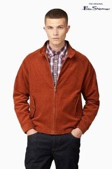 Ben Sherman Gold Metal Cord Harrington Jacket
