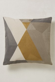 Textured Geo Cushion