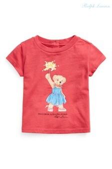 Ralph Lauren Red Bear T-Shirt