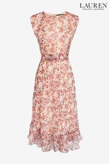 Lauren Ralph Lauren® Floral Alastair Midi Dress