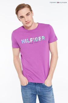 Tommy Hilfiger Branded Appliqué T-Shirt