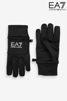 Emporio Armani EA7 Black Tech Gloves