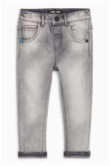 Slub Five Pocket Jeans (3mths-6yrs)