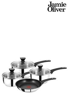 4 Piece Jamie Oliver Tefal Pan Set