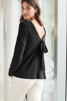 Embellished Front Cosy Top