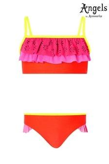 Angels by Accessorize Multi Colourblock Layered Bikini