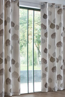 Tranquil Leaf Studio* Eyelet Curtains