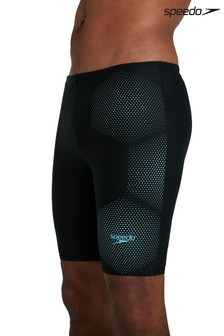 Speedo Black Tech Placement Jammer Shorts