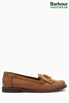 Barbour® Tan Tassel Loafer