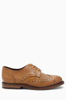 03b9d954f5474 Leather Brogues (Older)