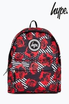 Hype. Multi Geo Roses Backpack