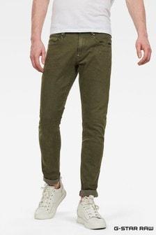 G-Star Green Revend Skinny Fit Jean
