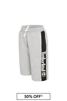 Timberland® Boys Grey Cotton Shorts