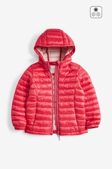 Shower Resistant Short Padded Jacket (3-16yrs)
