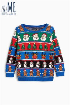 Boys Wrapping Paper Jumper (3-16yrs)