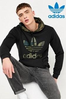 adidas Originals Black Camo Pullover Hoody
