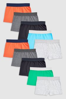 Trunks Ten Pack (2-16yrs)