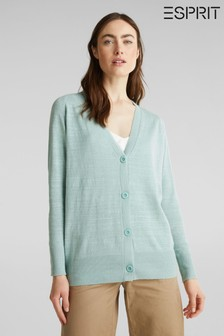 Esprit Green Cardigan