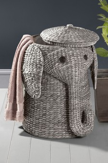 elephant laundry basket - Bathroom Baskets