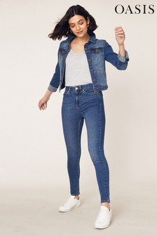 Oasis Denim Mid Wash Lily Jean