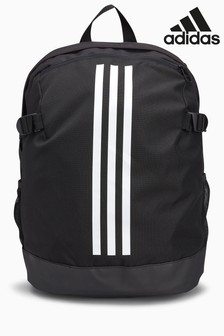 adidas Black 3 Stripe Backpack