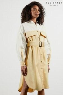 Ted Baker Romolow Cotton Shirt Dress