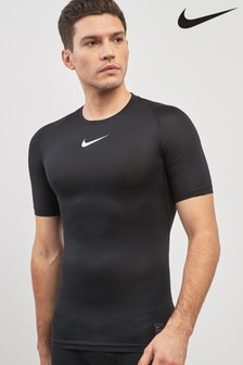 Nike Pro Black Short Sleeved Top