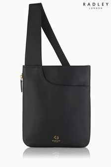 Radley Black Pockets Acrossbody Bag