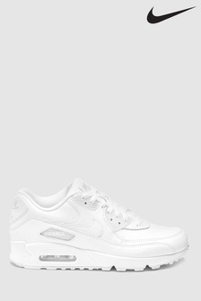 on sale aba09 a476d Nike White Air Max 90
