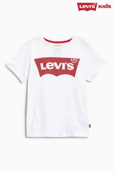 Levi's® Kids White Graphic Tee
