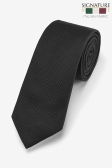 Signature Italian Silk Textured Tie