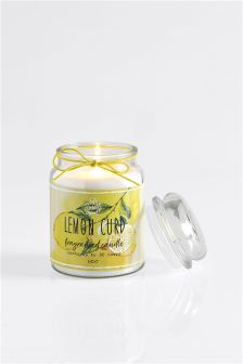 Lemon Curd Fragranced Candle