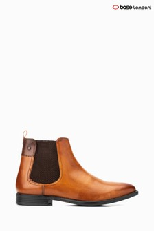 Base London® Tan Dolcetta Pull-On Chelsea Boots