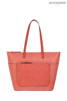Accessorize Pink Emily Tote Bag